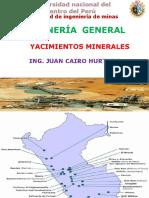 Yacimientos Minerales