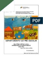 Relatório Final Do Departamento Julho 2015