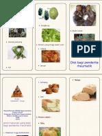 Leaflet Diet Rematik