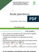 Ácido Jasmônico Apresentação Atuall