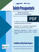 DC4333 Boletin Presupuestario Enero-Marzo 2011