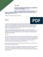 DepEd vs. San Diego (180 SCRA 533) Case Digest