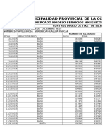 Control Diario Ticket