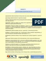Anexo IV - Listado Palabras Modificadas RAE 2012