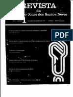 Revistada Fundação Jones Dos Santos Neves n. 01 - 1977