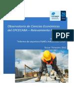 Observatorio Obs Cs Ecónomicas Informe Nro 10 (Industriales) Sergio Biller Versión 1.0
