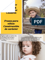 Frases Para Niños-Construcción de Carácter - Character Building Quotes for Children