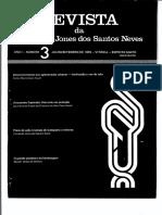 Revista da Fundação Jones Dos Santos Neves n. 03 - 1978