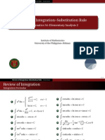 00 Review of Integration - Handout