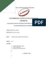 Monográfico Derecho Laboral Fuentes Del Derecho Del Trabajo.