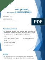 Portugues pronombres