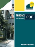 Folleto Institucional Fundacion CNSE