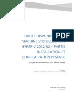Installation Pfsense Sur Hyper-V