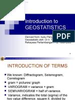00 Introduction Geostatistics