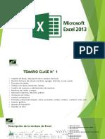 Excel 2013 Capacitación