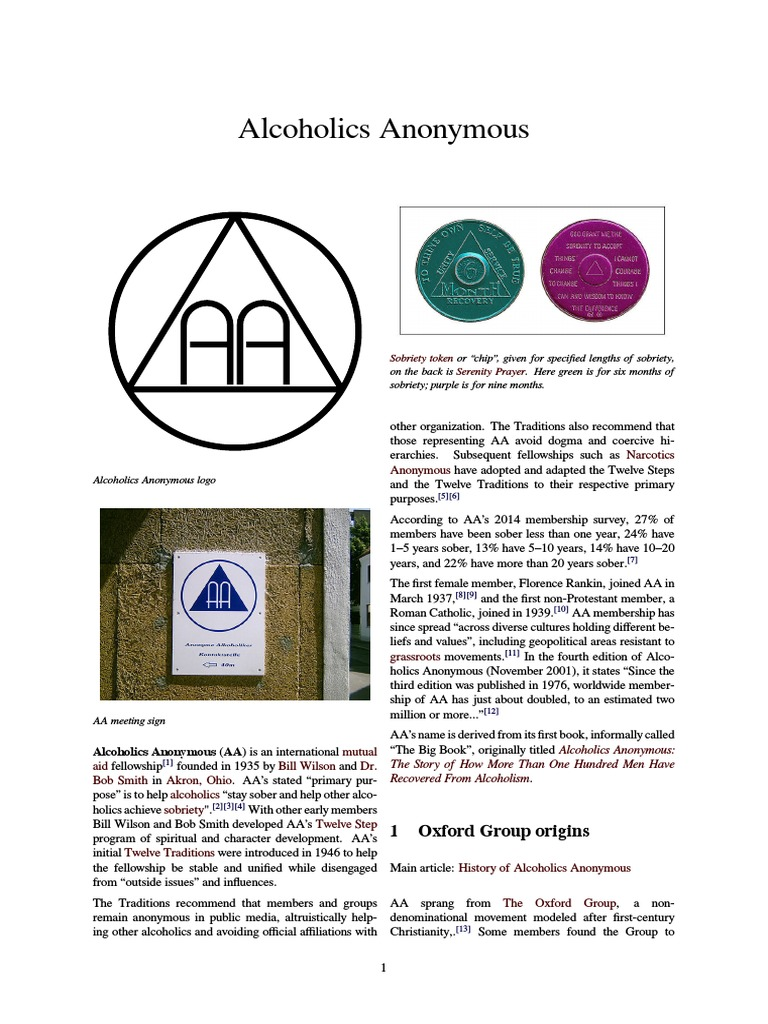 Narcotics Anonymous Booklet Pdf