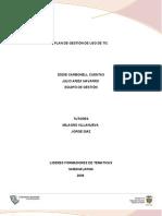 Plan de Gestion Uso de TIC Final CODESA