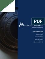 Unit Trusts - African Alliance Kenya Brochure