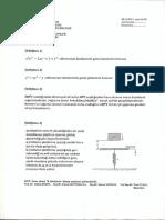 Diferansiyel Denklemler (Vize - 2013)