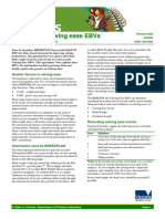 Breedplan Calving Ease EBVs