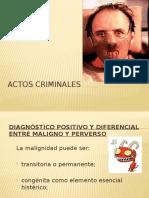 Actos Criminales