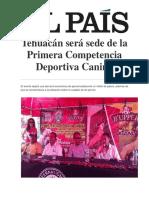 Tehuacán Será Sede de La Primera Competencia Deportiva Canina
