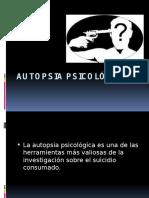 AUTOPSIA PSICOLÓGICA