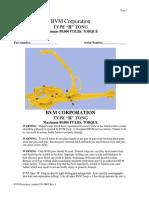 h Tong Maintenance Manual