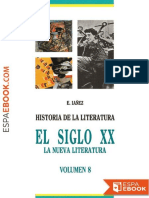 El Siglo XX_ La Nueva Literatur - Eduardo Ianez