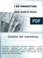 Gestión de Marketing 1era Semana