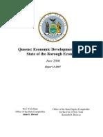 Queens - Economic Development and the State of the Borough Economy