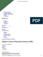 Digital Control of Dynamic Systems (1998)