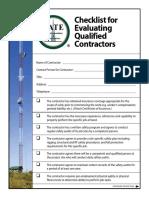 Qualified Contractor Checklist 11-20-14