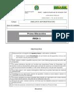 Disc Analista Area 1