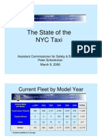 The State of the NYC Taxi