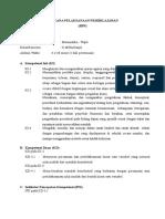 RPP K13 (Persamaan & Pertidaksamaan Linear yang Memuat Nilai Mutlak)