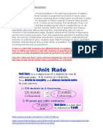 the concept of ratio is a critical foundation in the learning progression of algebra concepts