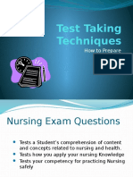 Test Taking Techniques(7)