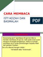BASMALAH ISTIADZAH