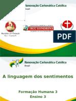 RCC Formação Humana 3 - Ensino 3 - A Linguagem dos Sentimentos