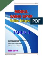 Modul Sains Upsr - Telegram - t4
