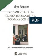 """Pablo Peusner. """"Fundamentos de la clínica psicoanalítica lacaniana con niño"""" (Letra Viva, Bs.As., 2006)"""