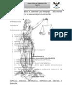 Limites en El Derecho Al Conocer Los Origenes Biologicos Como Consecuencia de Una Inseminacion Artificial