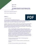 Ex Post Facto & Bill of Attainder Cases