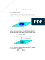 Applications of the Double Integral