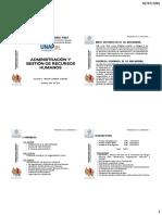 Administración Y Gestión de RR.hh (I)