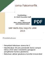 PPT glaukoma fakomorfik