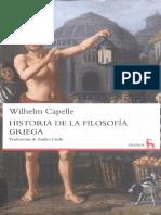 Capelle Wilhelm - Historia De La Filosofia Griega (Gredos).pdf