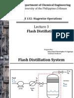 132.3 Flash Distillation