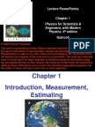 Physics Lecture on Measurements